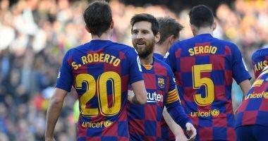 ملخص وأهداف مباراة برشلونة ضد خيتافى فى الدوري الإسباني