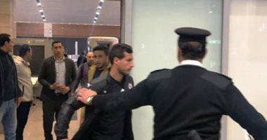 بعثة الزمالك تصل مطار القاهرة بعد التتويج بالسوبر