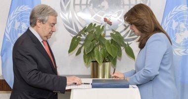 غادة والى تؤدى اليمين لتولى منصب وكيل السكرتير العام للأمم المتحدة