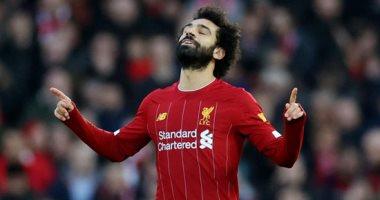 بعد مساهمته فى هدفي أمام  وولفرهامبتون .. رقم رائع لصلاح مع ليفربول