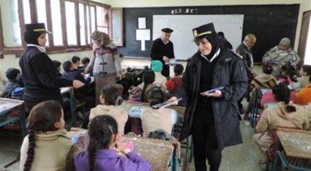 """""""الداخلية"""" تنظم زيارات لطلاب المدارس لشرطة المرور والحماية المدنية"""