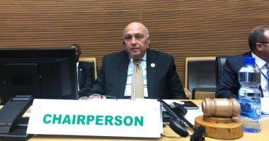 شكري يتحدى إثيوبيا: مستعدون للعودة لمفاوضات السد حال الالتزام بعدم الملء