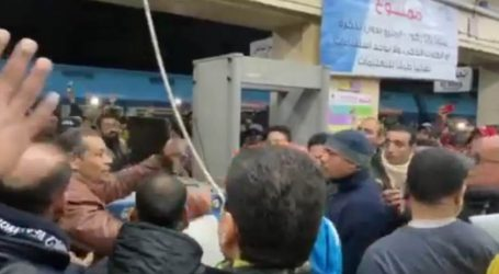 مشادات كلامية بين المواطنين بسبب توقف المترو باتجاه المرج
