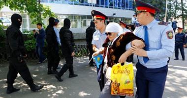 اعتقال عشرات المحتجين المناهضين للحكومة فى كازاخستان