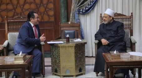 شيخ الأزهر يستقبل سفير كازاخستان بالقاهرة