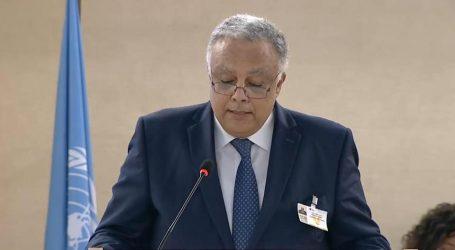 مساعد وزير الخارجية لحقوق الإنسان يلقي كلمة مصر للدورة الثالثة والأربعين لمجلس حقوق الإنسان بجنيف
