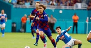 رسميا.. إقامة مباراة برشلونة ضد نابولى بدون جماهير بسبب كورونا