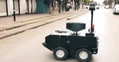 تونس تنشر روبوتات مدرعة لملاحقة مخالفى الحظر الصحى بسبب كورونا.. فيديو