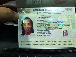 رونالدينيو من نجم عالمي لمزور …. حاول دخول باراجوارى بجواز سفر مزور