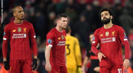 ليفربول يعلق التدريبات بعد قرار تأجيل الدوري الإنجليزي
