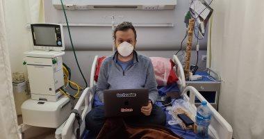 الصحفى الأمريكى المتعافى من كورونا: سعيد بزيارة مصر بسبب علاقة الدفء والحب