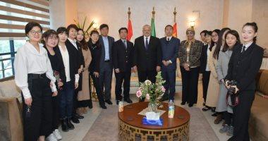 الخشت للطلبة الصينيين بجامعة القاهرة: وضعنا خطة شاملة للوقاية من كورونا