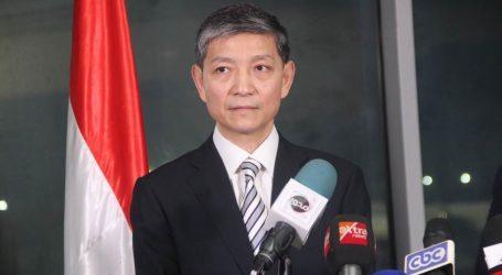 السفير الصيني يشكر الرئيس السيسي ووزيرة الصحة على التضامن مع بلاده