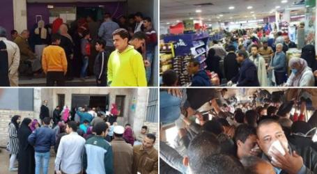 """هاشتاج بعنوان """"اوعى الزحمة"""" لتوعية المواطنين بخطورة التجمعات"""