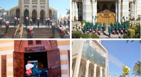 المتحدث العسكرى : القوات المسلحة تنفذ عمليات التطهير لكلاً من مشيخة الأزهر الشريف ودار الإفتاء