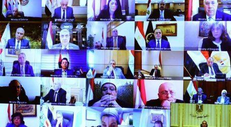 بدء اجتماع الحكومة الأسبوعي بالفيديو كونفرانس لمتابعة تداعيات كورونا