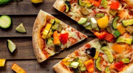 طريقة عمل بيتزا سريعة بالخضار