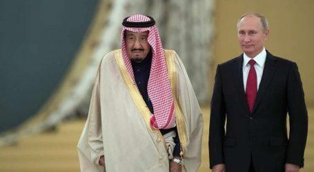"""ترامب يبحث مع بوتين والملك سلمان """"صفقة النفط """""""