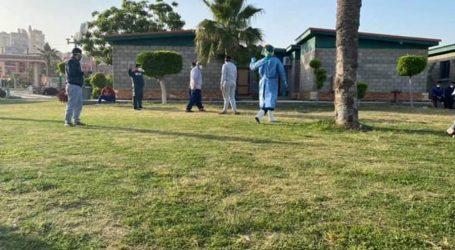 خروج 25 متعافى من كورونا بالمدينة الشبابية في أبوقير