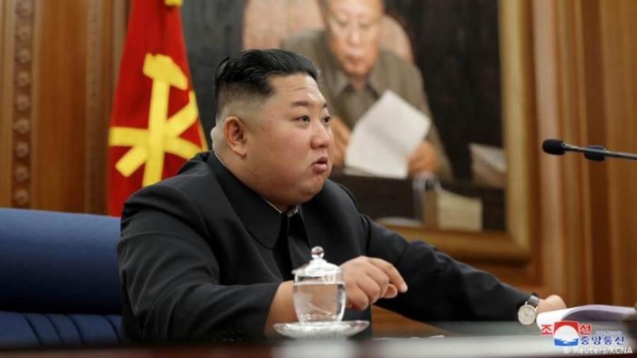 زعيم كوريا الشمالية كيم يونج أون