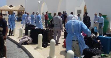 مطار مرسى علم الدولى يستقبل اليوم رحلة مصريين عالقين قادمة من الرياض