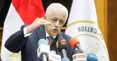 وزير التعليم: 650 ألف طالب يؤدون امتحانات الثانوية العامة