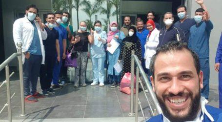 ارتفاع حالات الشفاء من كورونا لـ63 حالة بمستشفى أبو خليفة بالإسماعيلية