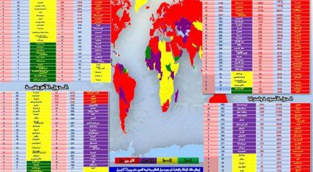 الحدث الان تقدم متابعة لآخر مُستجدات انتشار ( فيروس كورونا ) في مختلف دول العالم
