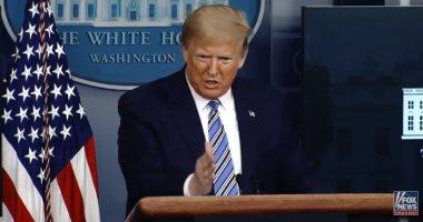 """ترامب: أعمال العنف فى البلاد يقوم بها """"لصوص فوضويون"""""""