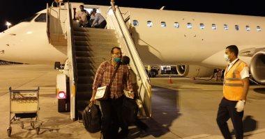 مطار مرسى علم يستقبل 35 مصريا عائدا من مدينة جوبا السودانية