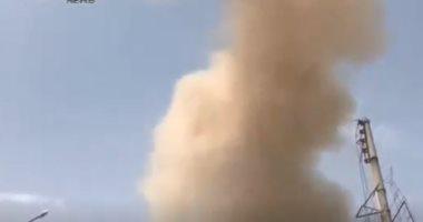 انفجار عبوة ناسفة فى بلدة قدسيا بريف العاصمة السورية أدت لمقتل مفتى دمشق