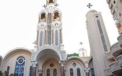 إلقاء زجاجة مولوتوف على كنيسة العذراء والشهيد مارجرجس شرق الإسكندرية