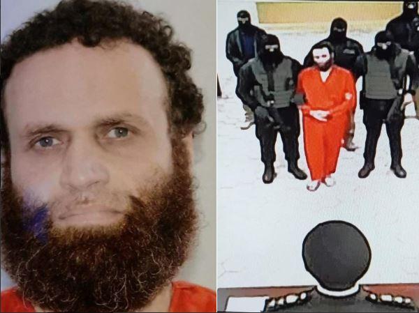 لقطة لمشهد إعدام هشام عشماوي