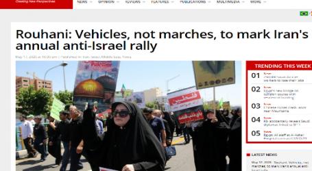 (ميدل إيست مونيتور) : إيران تحتفل بذكرى يوم القدس بدون مسيرات