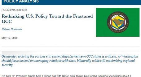 """"""" الحدث الآن """"يقدم : ترجمة لتقرير من معهد واشنطن لدراسات الشرق الأدنى بعنوان ( إعادة النظر في سياسة الولايات المتحدة تجاه مجلس التعاون الخليجي المتصدع )"""