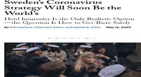مجلة (فورين أفيرز) الأمريكية :استراتيجية السويد في مواجهة فيروس كورونا سيتبناها العالم قريباً