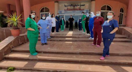 خروج 145 حالة من العزل الصحى بأبو قير بعد تعافيهم من فيروس كورونا