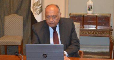 وزير الخارجية ونظيره الإيطالى يبحثان تطورات الأوضاع الراهنة فى ليبيا