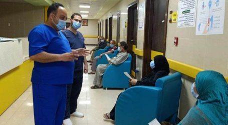 خروج 5 مسنين متعافين من فيروس كورونا من مستشفى العزل بإسنا