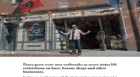 نيويورك تايمز ) الأمريكية : تزايد المخاوف من بدء موجة ثانبة من كورونا