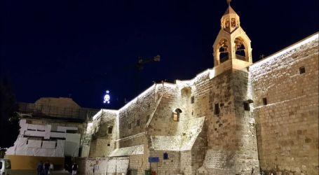 كنيسة المهد بفلسطين تعيد فتح أبوابها للزائرين