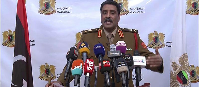 تجدد الاشتباكات بين الجيش الليبى ومليشيات الوفاق في طرابلس