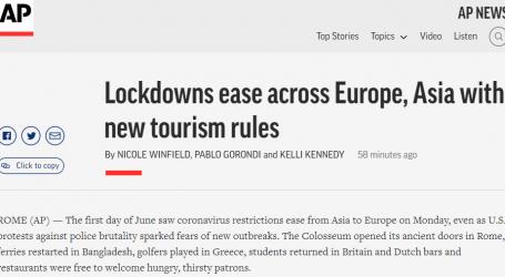 وكالة أسوشيتد برس : تخفيف قيود الإغلاق في جميع أنحاء أوروبا وآسيا مع قواعد السياحة الجديدة