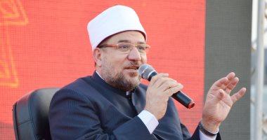 وزير الأوقاف: سعيد بوعى المصلين وفتح المساجد يزيد الوعى بالإجراءات الوقائية