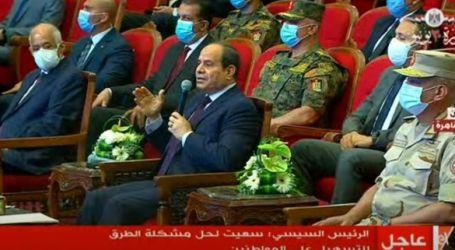 السيسي: مصر دائماً تجنح للسلم رغم أمتلاكها قدرة شاملة فى محيطها الإقليمى