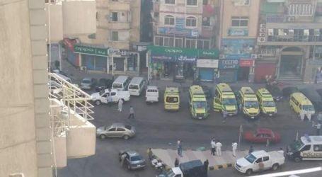 مصرع 7 مرضى فى حريق بمستشفى خاص فى الإسكندرية