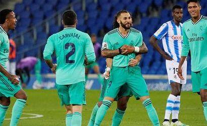 بعد إثارة تحكيمية ..ريال مدريد يفوز علي سوسيداد و ينتزع الصدارة