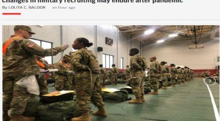 وكالة أسوشيتد برس الأمريكية : التغييرات في التجنيد العسكري للجيش الأمريكي قد تستمر بعد الوباء