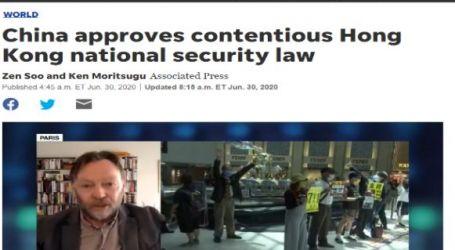 موقع يو أس نيوز الأمريكي : الصين توافق على قانون الأمن القومي لهونج كونج المثير للجدل