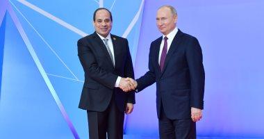 بوتين يجرى اتصالا مع الرئيس السيسى ويؤكد دعمه لمبادرة مصر لحل أزمة ليبيا